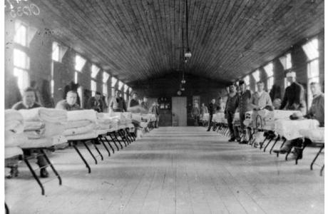 3rd Auxilliary Hospital, Dartford, Kent.UK. Photographer unknown, photograph source AWM C01233