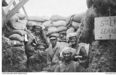 12th Bn. Observation post Gallipoli, August 1915. Photographer unknown, photograph source AWM P01436.003