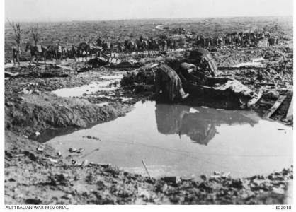 DAC in Flanders, Belgium 1917. Photographer unknown, photograph source AWM E02018