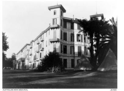 2nd Australian General Hospital Cairo. Photo courtesy AWM J02560