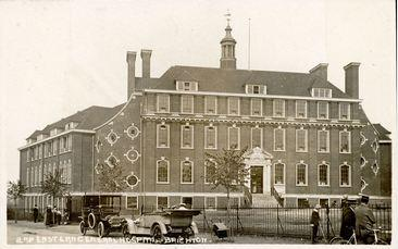 2nd Eastern General Hospital Brighton. Postcard, source Brighton History Centre BH420939