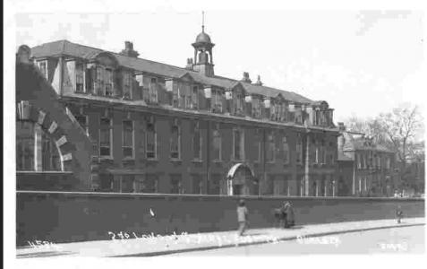 2nd London General Hospital. Postcard WW1