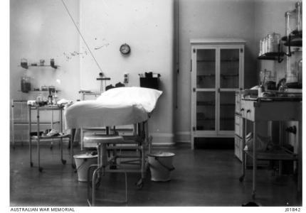3rd Australian General Hospital Brighton c 1917. Photographer unknown, photograph source AWM J01842