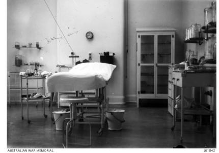 3rd Australian General Hospital Brighton c 1917. Photographer unknown, photograph source AWM J01842