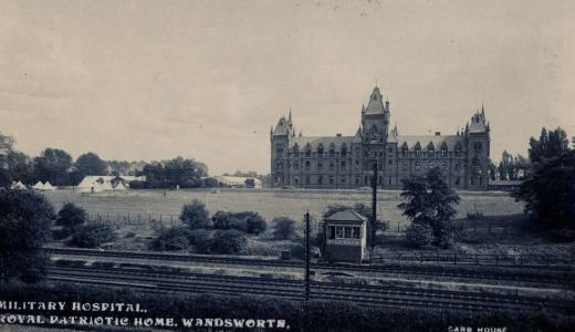3rd Australian General Hospital at Wandsworth.UK_c 1916. Postcard by Card House