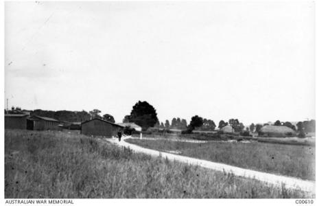 3rd Command Depot, Hurdcott, near Fovant, Wiltshire 1916. Photographer unknown, photograph source AWM C00610