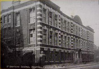 5th General Hopsital Portsmouth 1919. Photographer unknown, photograph sourced from postcard