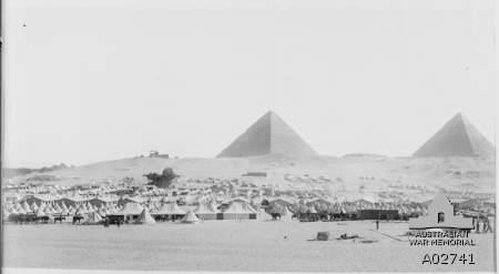 Mena Camp. Photographer unknown, photograph source AWM A02741