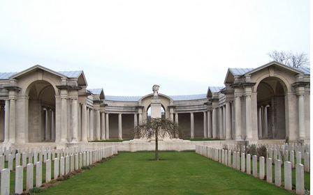 Arras Cemetery. Photographer unknown, photograph source CWGC