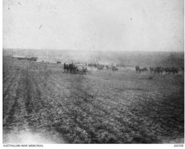 Australian Light Horse at the Battle of Gaza March 1917. Image courtesy AWM J06558