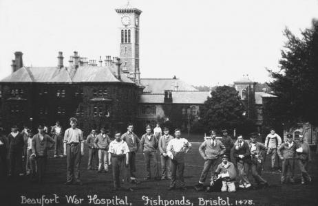Beaufort War Hospital Bristol. Unsourced photograph Wikipedia