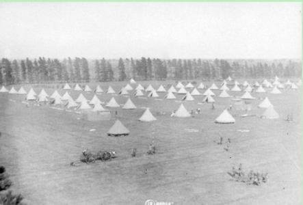 Broadmeadows  Military Training Camp. Photographer unknown, photograph source AWM DA0D00018