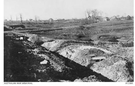 Bullecourt, France 1917. Photographer unknown, photograph source AWM H12360
