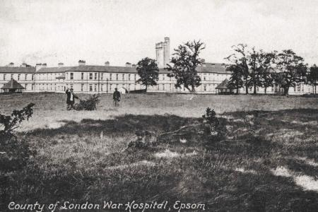 County of London War Hospital. Photograph source Lost Hospitals of London