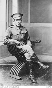 Cpl. Norman Stanley Wilson. Photographer unknown, photograph source AWM H06746