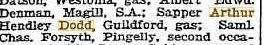 Dodd A.H. List of wounded in Daily News 15.6.1918 p8