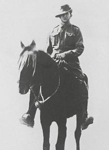 Dudley Lukin, 10th Light Horse c 1914. Photograph source SLWA 6802B