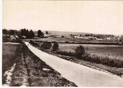 Durrington Camp Salisbury Plains. Postcard