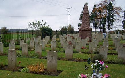 Durrington Cemetery. Photographer unknown, photograph source CWGC