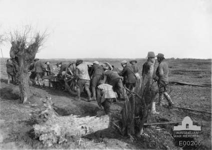 Somme Valley. Photographer unknown, photograph source AWM E00206