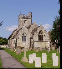 St George's Churchyard, Fovant, Salisbury. Photographer unknown, photograph source CWGC