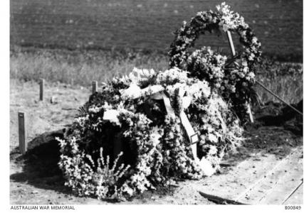 Grave of Col. J. T. Todd, Cairo January 1919. Photographer unknown, photograph sourced AWM B00849