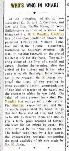 H S Munday. Camp Chronicle Midland  16.5.1918 p6