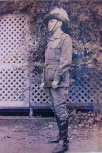 Tpr. Harold Maxwell Edwards 1916. Photo courtesy R. McKeown