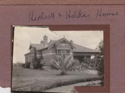 Home of Herbert and Hilda Hilman, Wilkie St. Sth Guildford