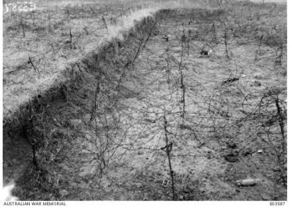 Hindenburg Outpost Line Area, Hargicourt,  Picardie, France. Oct.1918. Photographer unknown, image AWM E03587