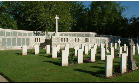 Holybrook Memorial, Southampton, England. Photographer unknown, photograph source CWGC