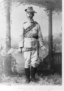 James De Burgh Morrison c1899. Photograph source unknown, image courtesy SGHS PH2000-169
