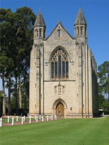 Kennedy worked as a stone mason on the Guildford Grammar School Chapel