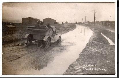 LarkhillCamp, Durrington Salisbury 1915 .Postcard
