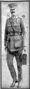 Lieut. Col. C. Battye. Photograph source Daily News 21.2.1916