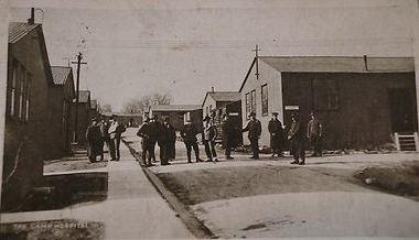 Military Hospital Fovant Camp, Dorset. Photograph source postcard