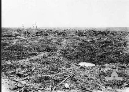 MouquetFfarm 1916. Photographer unknown, photograph source AWM E00005