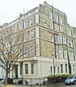 Mrs T.S. Hall's Hospital for Nurses, 12 Kensington Gardens, London. Photograph source Lost Hospitals of London