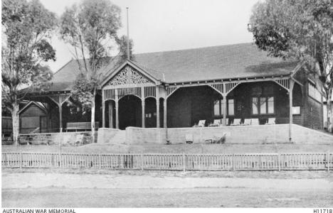 No 8 General Hospital Fremantle 1917. Photographer unknown, photograph source AWM H11718