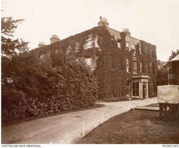 No. 1 Harefield House and Hospital. Photographer unknown, photograph source AWM P02402.005