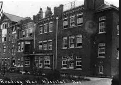 No. 1 War Hospital Reading, Berks. Photograph from Reading Museum, photograph source flickr
