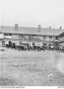 No. 8 General Hospital  Fremantle 1915  Photograph donor A.R. Box, photograph source AWM H03507