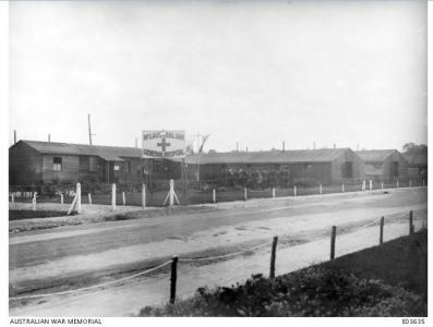 No.1 Australian General Hospital Rouen. Photographer unknown, photograph source E0635