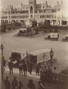 Palace Hotel used as the 1st Australian General Hospital, Heliopolis, Cairo 1916. Photographer unknown, photograph source AWM P10997.020