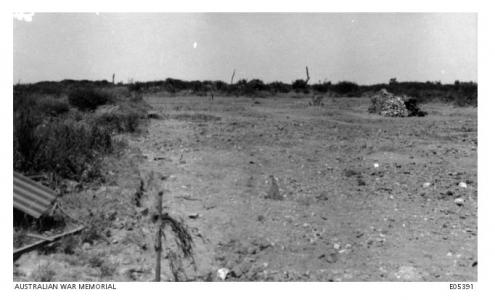 Pozieres Battle Field June 1916. Photgrapher unkknown, Image courtesy AWM E05391