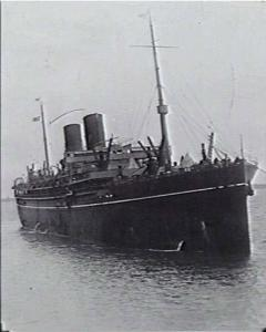 RMS 'Maloja'. Passenger/Cargo ship. Photographer unknown, photograph from the Naval Collection of the AWM 303575