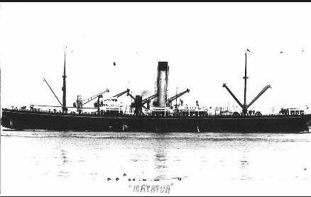 SS 'Matatua' Photographer unknown, photgraph sourced and reproduced with permission of Great Souhern Cards