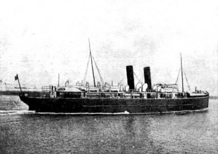 SS' Leinster' leaving Kingston Harbour, 1918. Image source The Australian Melbourne 26.10.1918 p 3