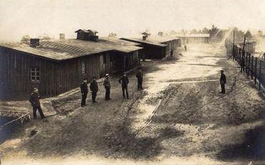 Saltau POW Camp in Saxony Germany. Photographer Anna Niewerth, image source WW1 postcards