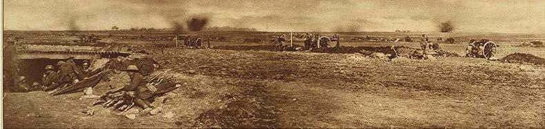 Second Battle of Monchy-Le-Preux Oct.1917. Photographer unknown, photograph source' The War of Nations', Library of Congress, Wikimedia Common